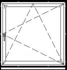 Atidaromas ir atverčiamas langas L-1